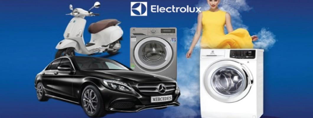 Mua máy giặt ngay – Cơ may trúng lớn