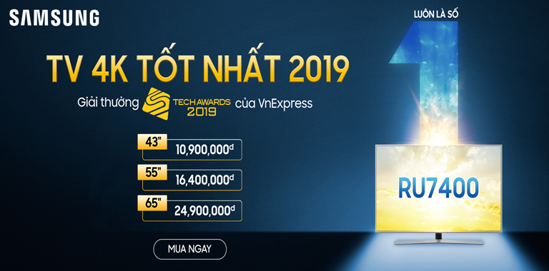 Tivi 4K tốt nhất 2019