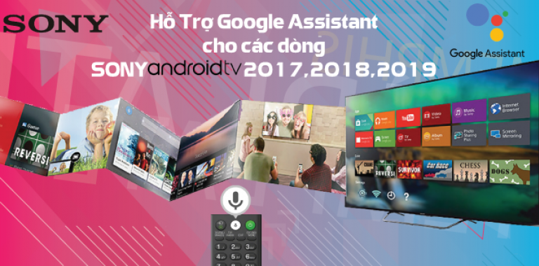 Sony cập nhật Google Assistant cho Android TV