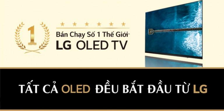 LG OLED TV - Bán chạy số 1 Thế Giới